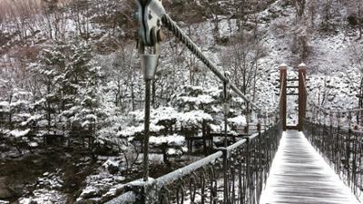 지난 두타연의 겨울
